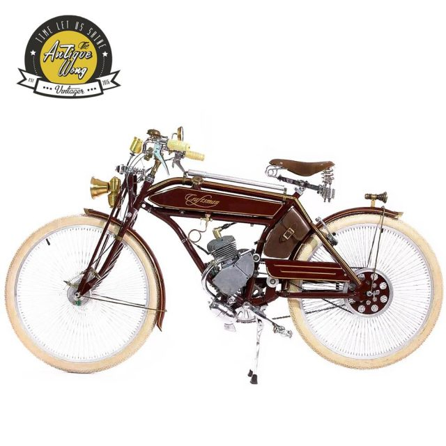 1924 craftsman 26inch retro bicycle Retro booster fuel bicycle / electric Power bicycle Bicycle Accessories