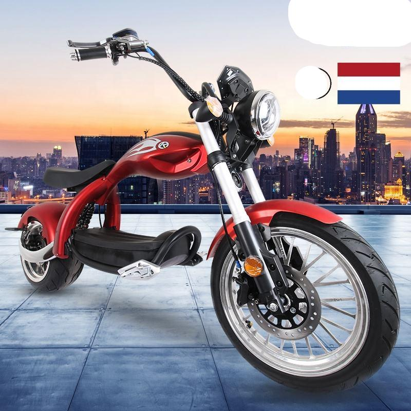 New Modal High Speed Citycoco 2000W Electric Motorcycle 60V 20AH 12inch Power Scooters Motorcycles Electric Adult E Scooter